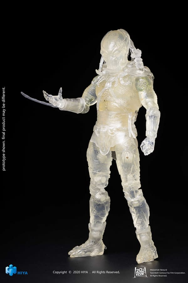 More Predators Go Invisible with New Hiya Toys Figures