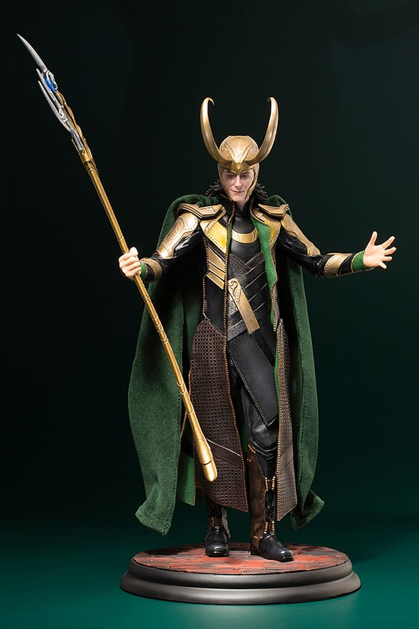 Loki Celebrates Marvel Studios with New Kotobukiya Statue
