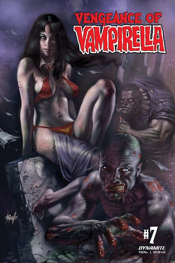 Thomas E. Sniegoski's Writers Commentary on Vengeance Of Vampirella #7
