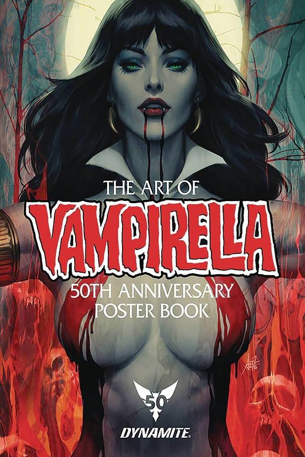 Vampirella Poster Book Cover