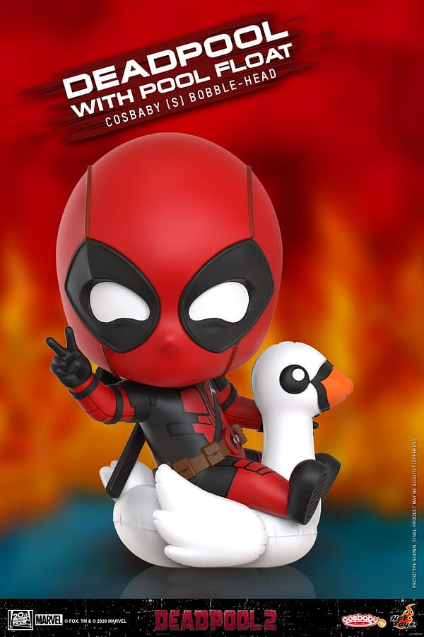 Deadpool 2 Gets New and Adorable Cosbaby Figures from Hot Toys