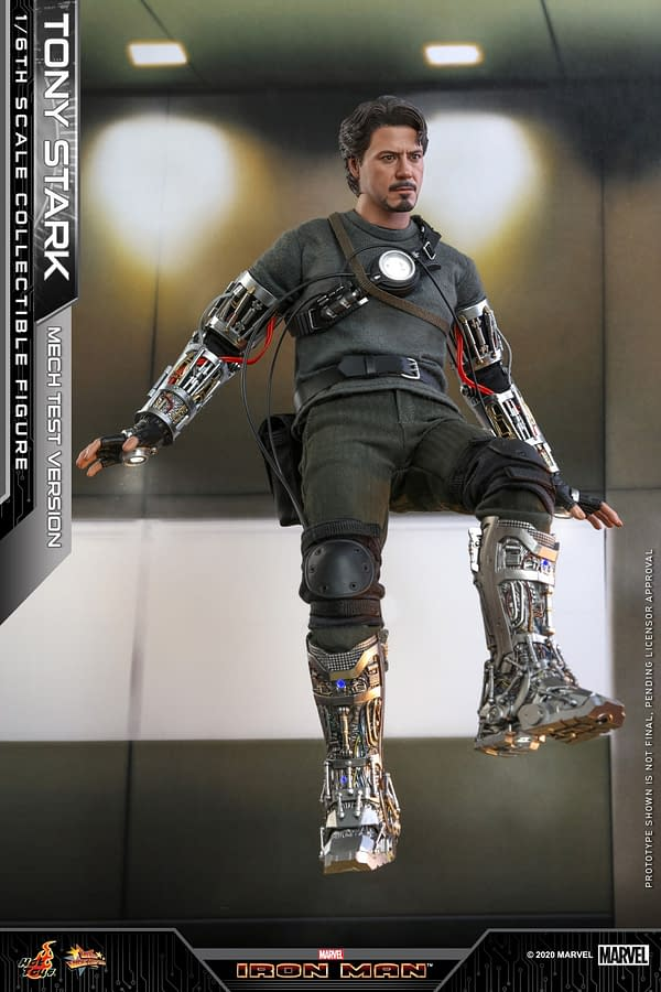Revisit Tony Stark from Iron Man 1 With New Hot Toys Figure