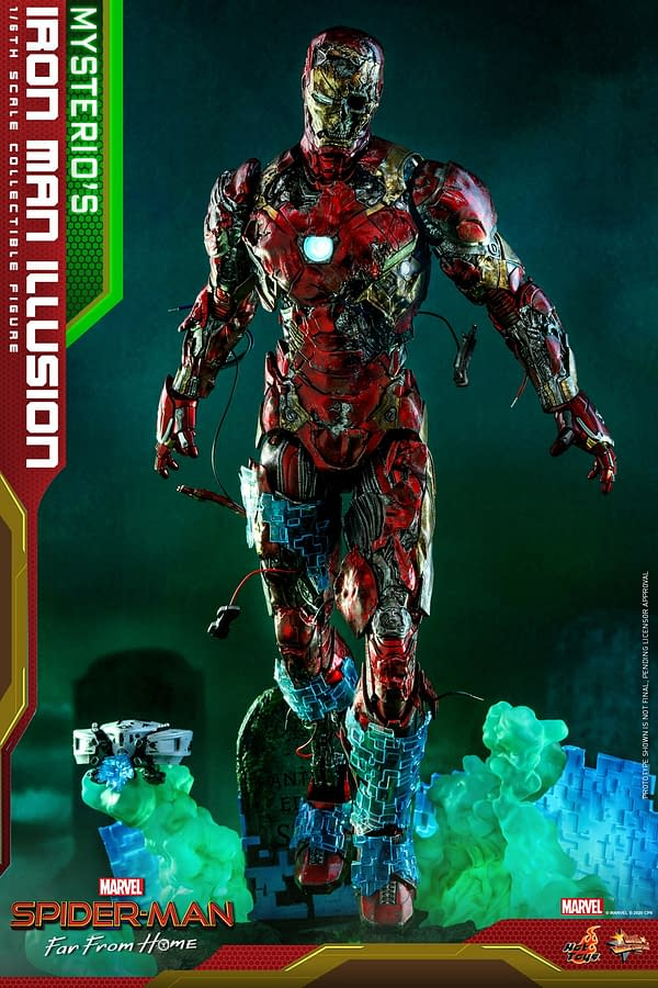 Mysterio's Illusions Brings Iron Man Back to Life with Hot Toys