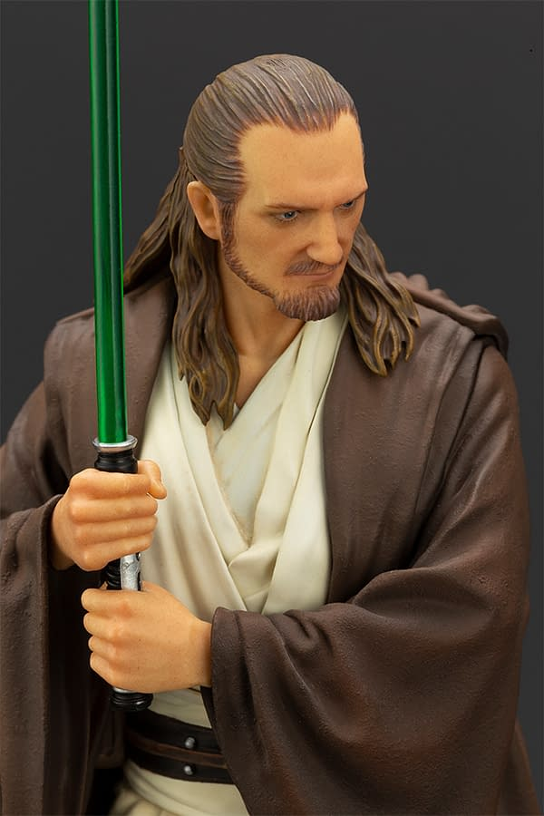Star Wars Qui-Gon Jinn Gets ArtFX+ Statue from Kotobukiya