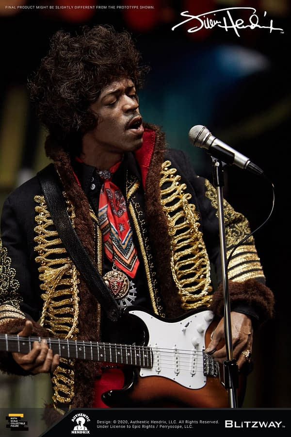 Jimi Hendrix Gets A Rocking 1/6 Scale Figure from Blitzway