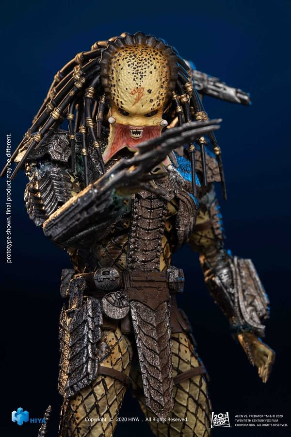 Alien and Predator Both Get New Figures From Hiya Toys