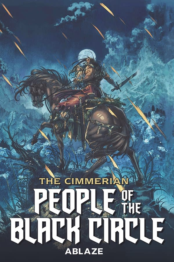 The Cimmerian cover. Credit: Ablaze.