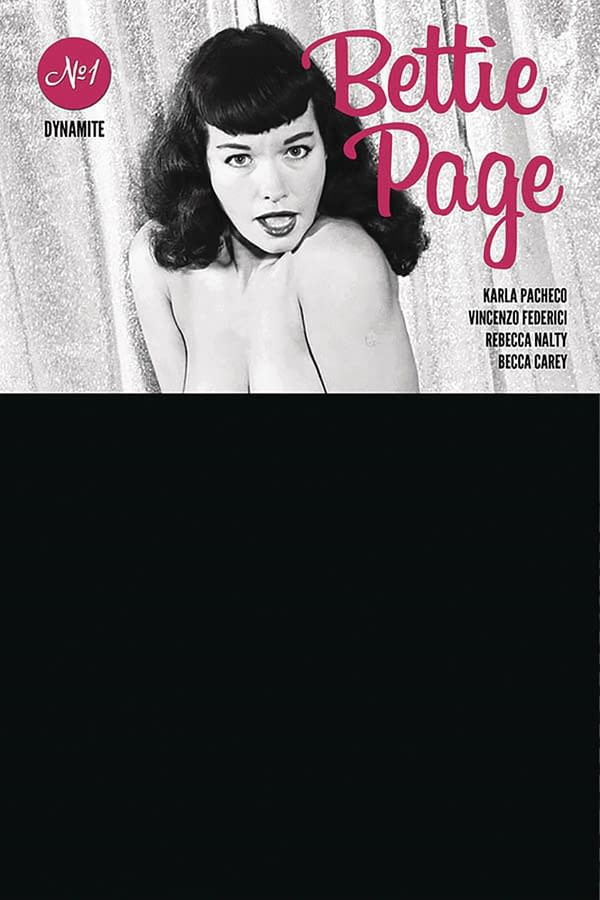 Oops - Risque Cover Of Bettie Page #1 Ships Without Black Bag.