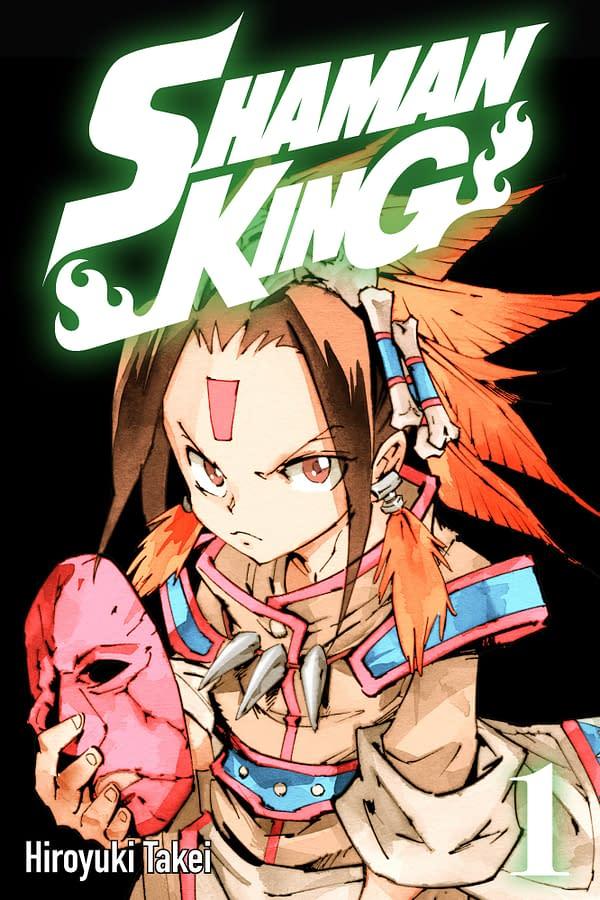 Shaman King Volume 1 cover. Credit: ComiXology Originals.