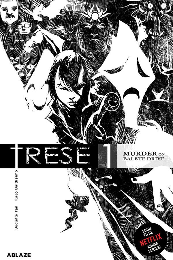TRESE Volume 1 cover. Credit: Ablaze.
