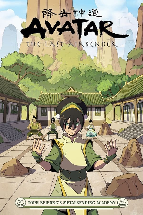 Avatar: The Last Airbender continues Toph Beifong's story. Credit: Dark Horse.