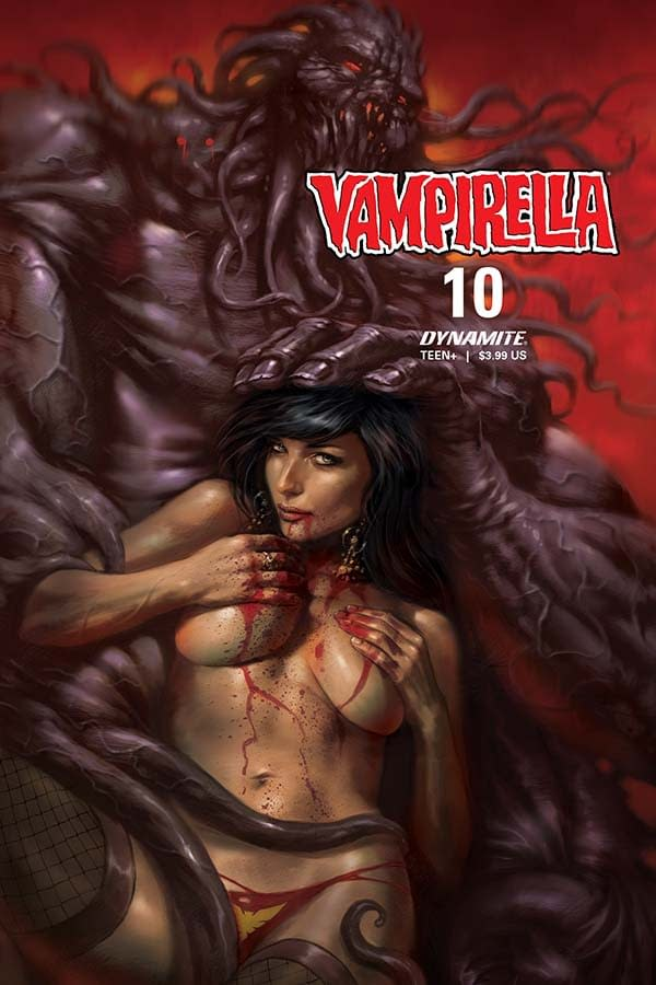 Vampirella #10 cover.