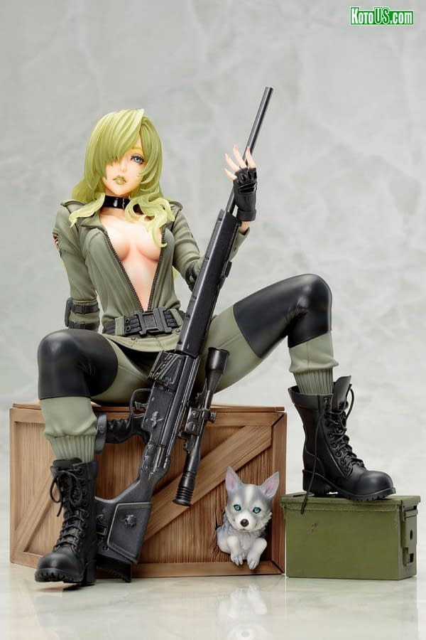 Metal Gear Solid Sniper Wolf Takes Aim with Kotobukiya
