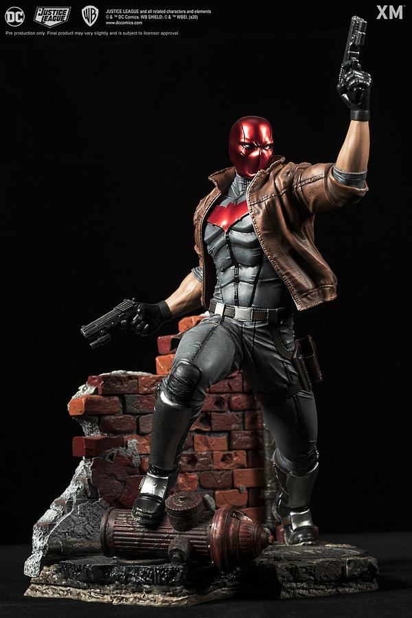 Red Hood Returns to Gotham in New XM Studios Statue