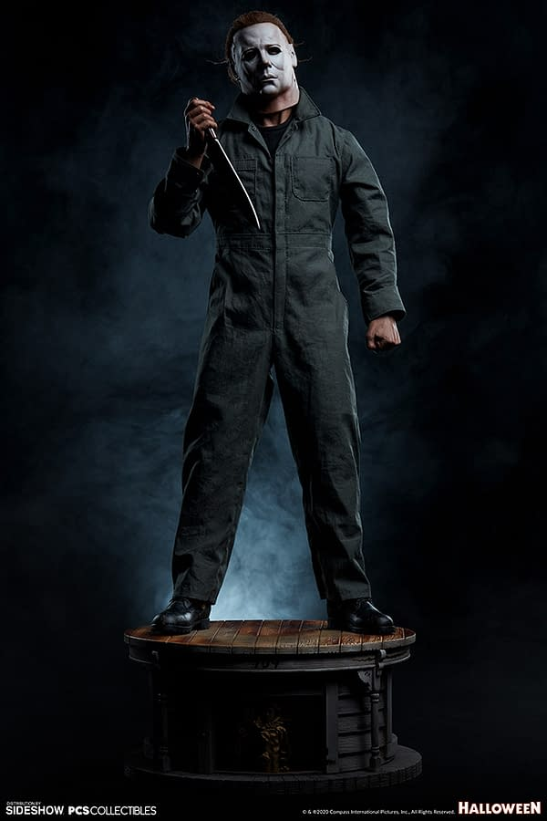 PCS Toys 1/4 Scale Michael Myers Statue Now Up For Order