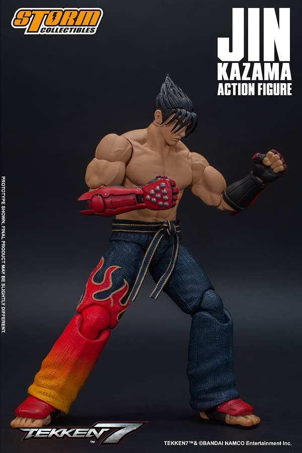 Tekken 7 Jin Kazama Unleashes the Devil with Storm Collectibles