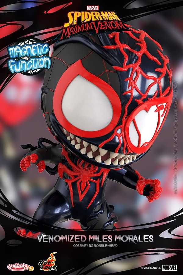 More Venomized Cosbaby Figures Arrive with Hot Toys