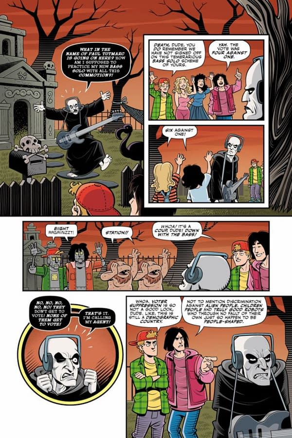 Bill And Ted Are Doomed #1 Out Tomorrow: Preview