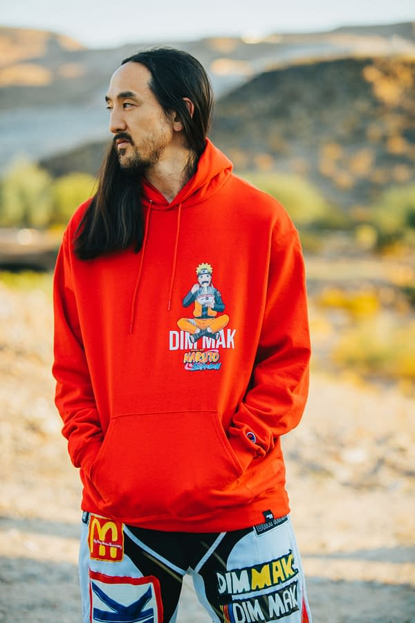 NARUTO X DIM MAK: Steve Aoki Joins Viz Media for Exclusive Streetwear
