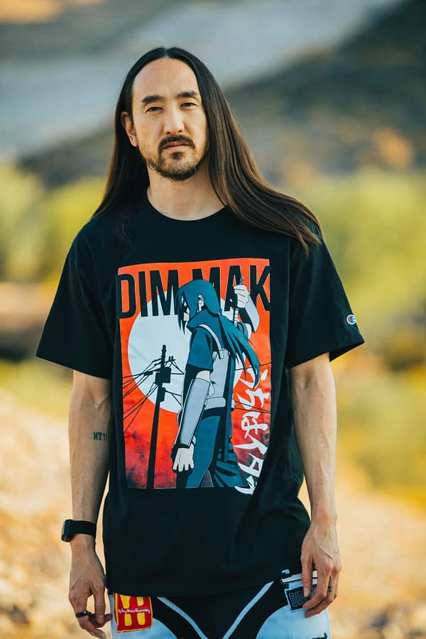 Naruto Shippuden: Steve Aoki Joins Viz Media for Exclusive Streetwear