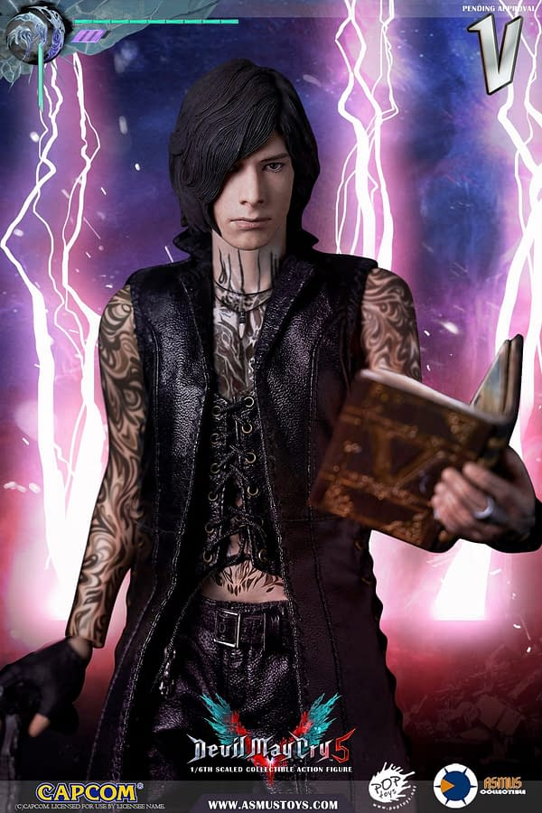 Devil May Cry 5 V Arrives With New Asmus Toys Figure