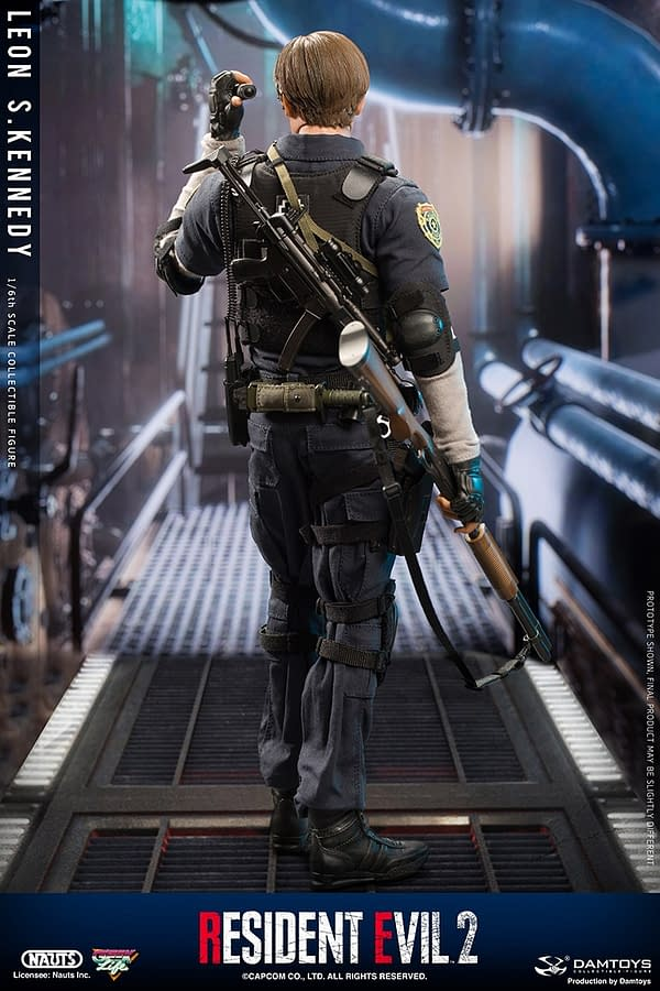 Resident Evil 2 Leon S. Kennedy Gets His Own Figure from DamToys