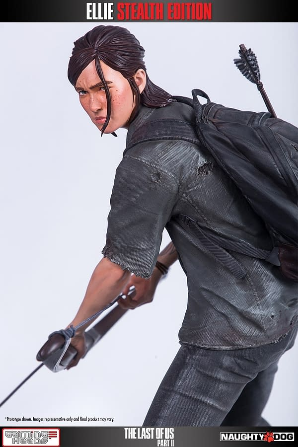 The Last of Us II Ellie Statue Revealed by Gaming Heads