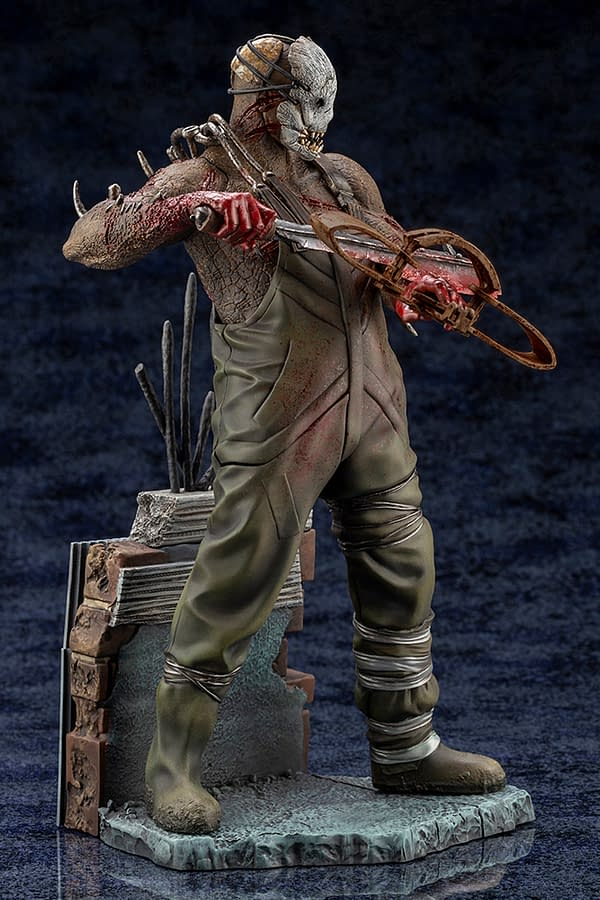 Dead By Daylight The Trapper Gets New Statue From Kotobukiya
