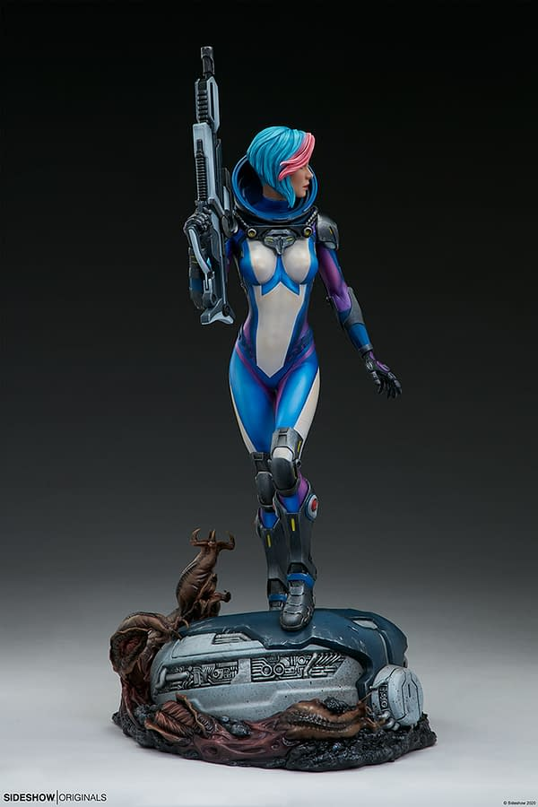 Sideshow Collectibles Original Bounty Hunter Statue Has Arrived