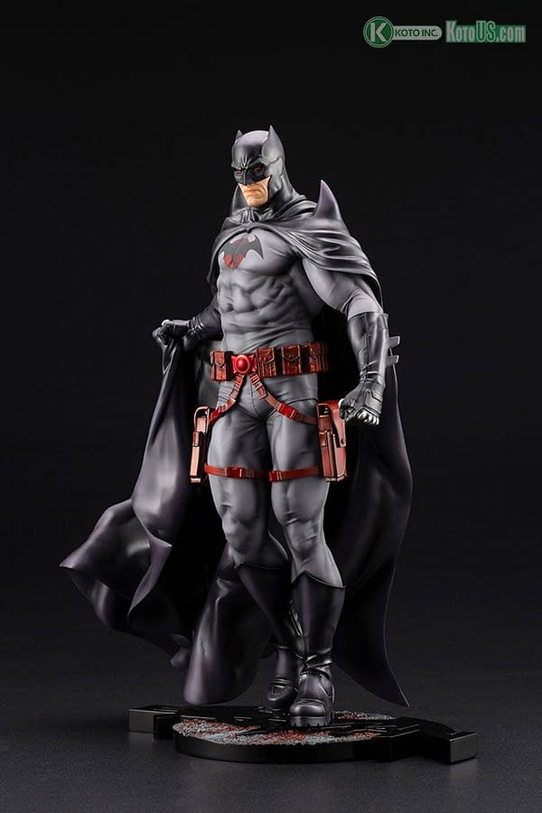 Flashpoint Batman Paints the Town Red with Kotobukiya