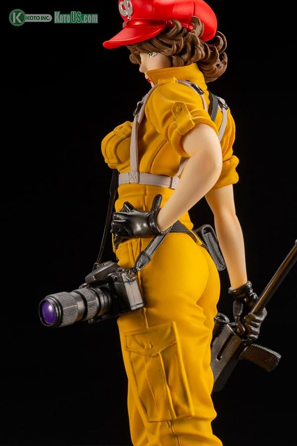 GI Joe Lady Jane is Back with a New Variant Kotobukiya Statue