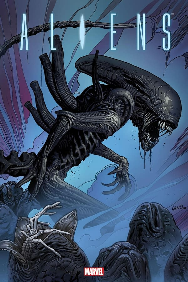 Separated At Birth: Tristram Jones and Greg Land's Alien