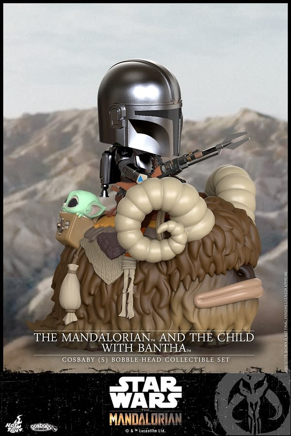 The Mandalorian Gets Adorable as Hot Toys Announces Cosbaby Line