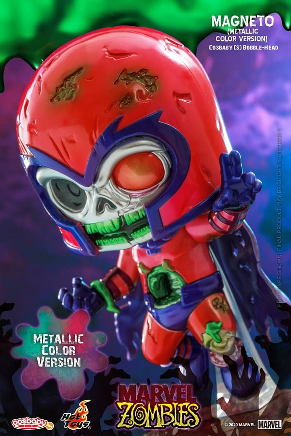 Marvel Zombies Walk the Earth with New Hot Toys Cosbaby's