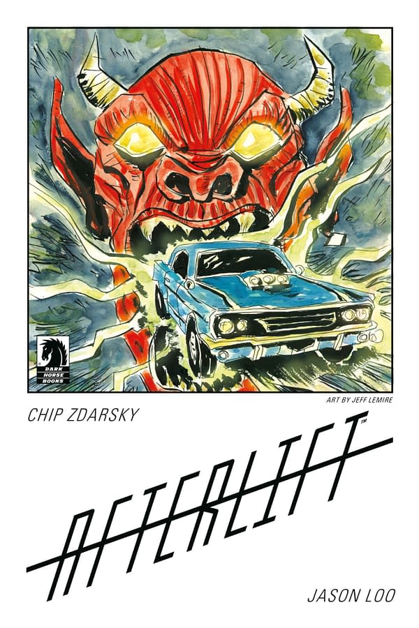 Dark Horse Announces Afterlift Chip Zdarsky/Jeff Lemire Bookplates