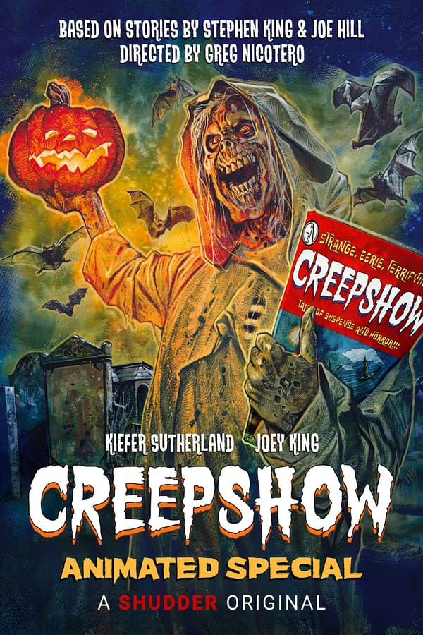 Creepshow released preview images and a trailer for its Halloween special (Images: AMC Network)