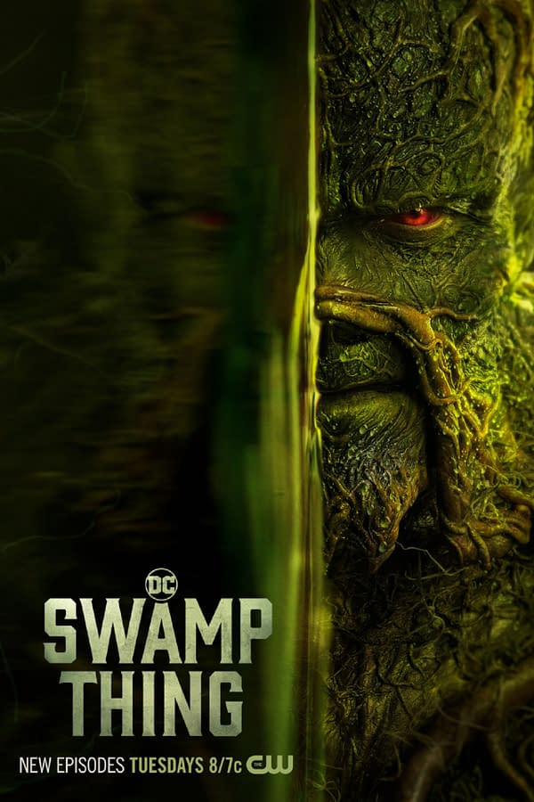 Swamp Thing -- Image Number: XXX -- Pictured: Derek Mears as Swamp Thing -- Photo: 2020 Warner Bros. Entertainment Inc. All Rights Reserved.