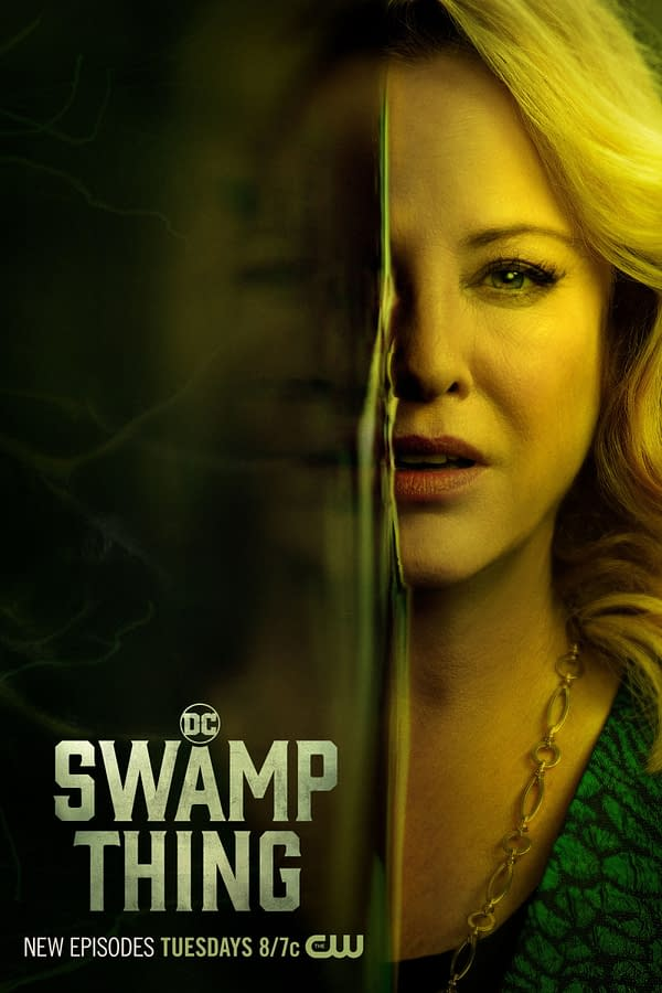 Swamp Thing -- Image Number: XXX -- Pictured: Virginia Madsen as Maria Sunderland -- Photo: 2020 Warner Bros. Entertainment Inc. All Rights Reserved.