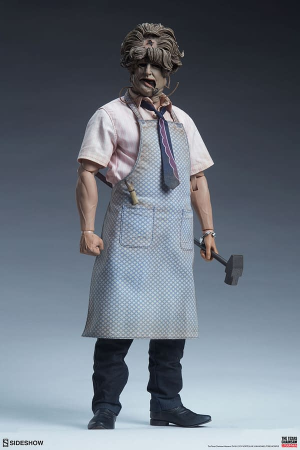 Texas Chainsaw Massacre Strikes Once Again at Sideshow Collectibles