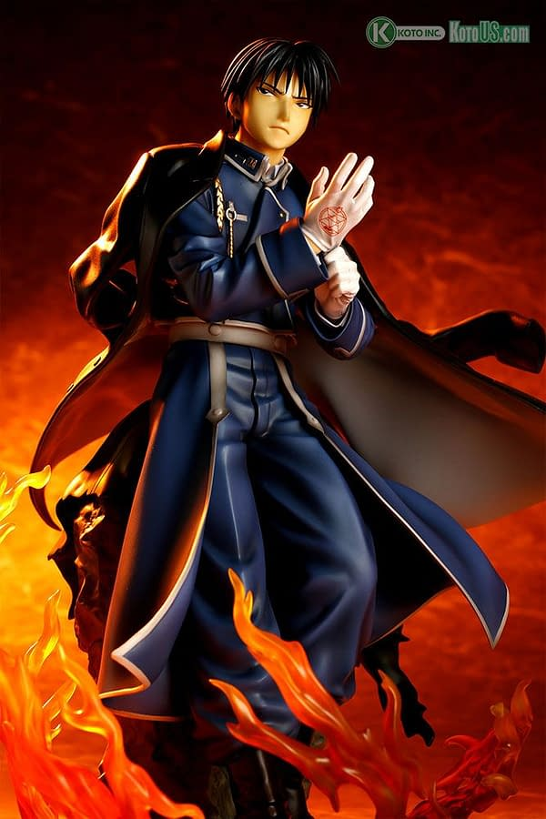 Fullmetal Alchemist Statues are Back from Kotobukiya