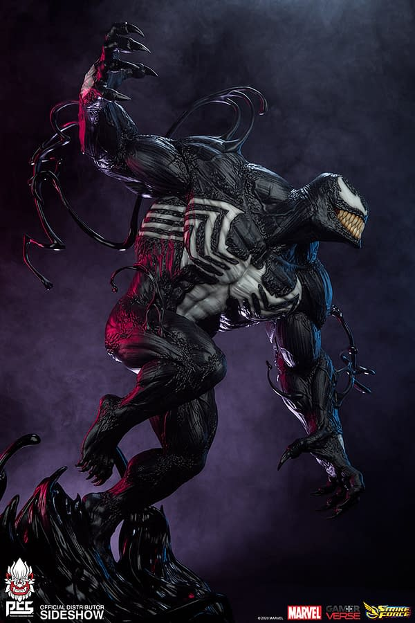 Venom Wants Vengeance With New Sideshow Collectibles Statue