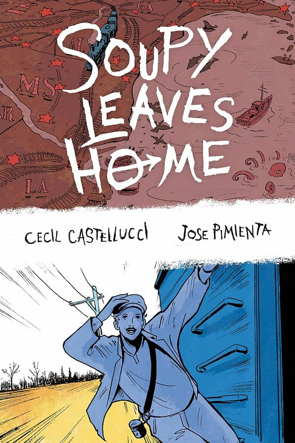 Soupy Leaves Home Graphic Novel Gains CBLDF Educational Supplement