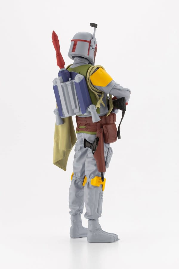 Boba Fett Goes Vintage With Limited Bait x Kotobukiya Statue  Boba Fett is back and is returning to his retro design with the newest limited edition Bait collaboration statue  #BAIT and #Kotobukiya team up to give #BobaFett an exclusive 500 piece #StarWars statue  Star Wars, boba fett, kotobukiya, bait