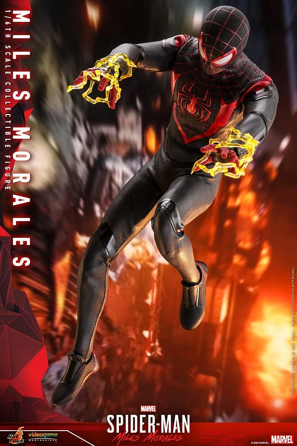 Spider-Man Miles Morales Gets a Brand New Hot Toys Figure