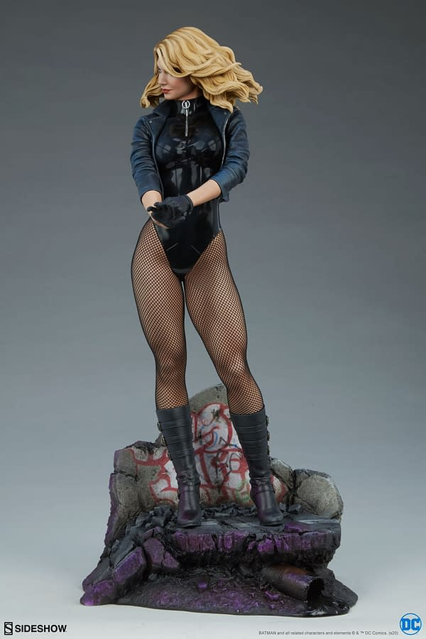 DC Comics Black Canary Lands at SIdeshow Collectibles