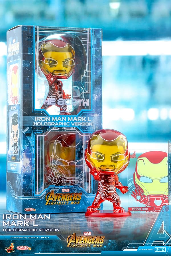 Iron Man Goes Translucent With New Cosbaby From Hot Toys