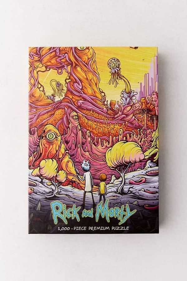 Rick and Morty: The 12 Days of Rickmas Day #9 (Image: Adult Swim screencap)