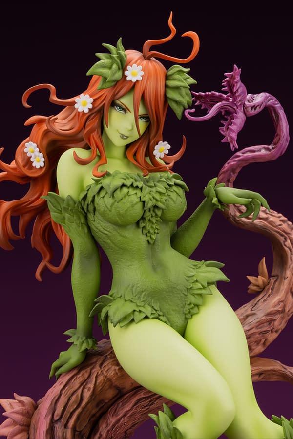 Poison Ivy Returns With New Variant Statue from Kotobukiya