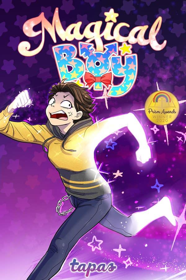 Magical Boy: Scholastic to bring Tapas Comic Series to Print