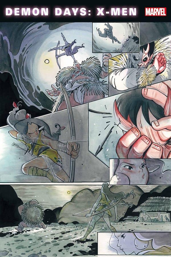 Peach Momoko Writes & Draws Her First Marvel Comic, X-Men: Demon Days